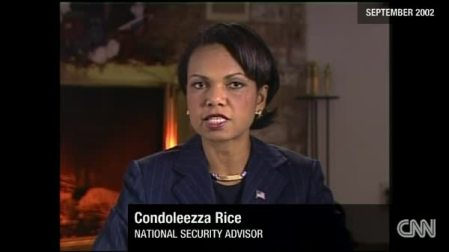 Condoleezza Rice scaring us with tales of the