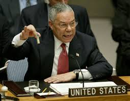 Colin Powell destroying his reputation in front of the world