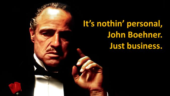 godfather john boehner meme