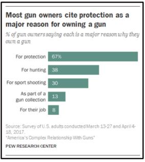 Reasons for gun ownership