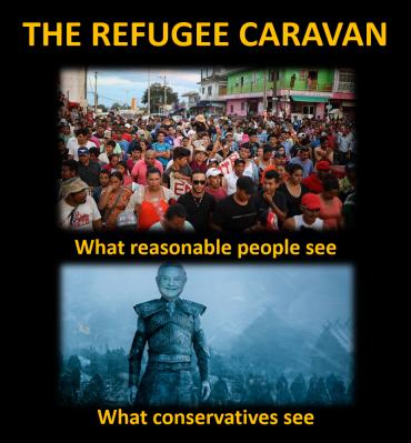 Refugee Soros Caravan