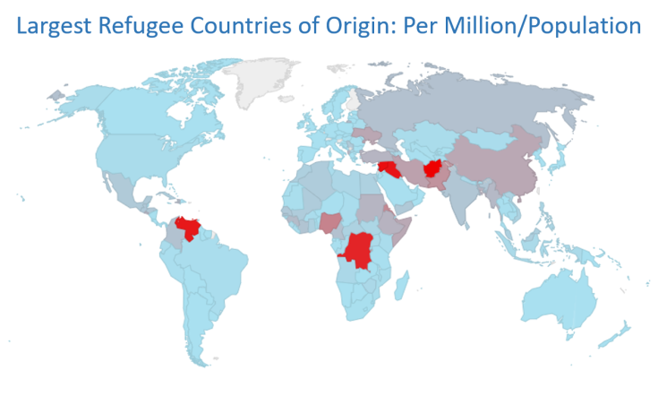 refugee map